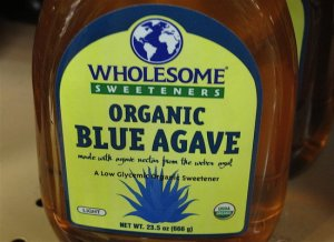 Some sources will have you falsely believe that agave syrup is better than sugar.