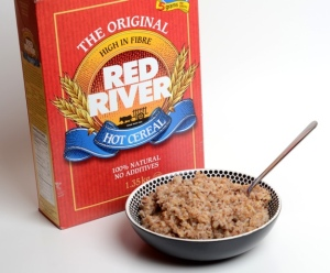 Red River is a super-healthy breakfast option IF you can resist the sugar!