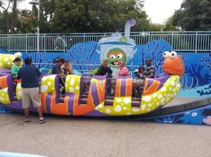 SeaWorld Oscar ride