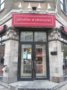 Chocolate store