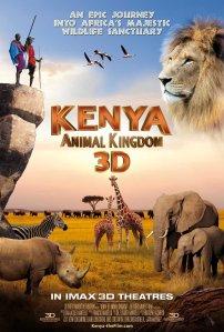 Kenya 3D poster