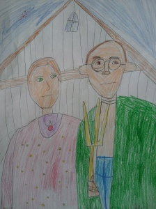 Lily's American Gothic