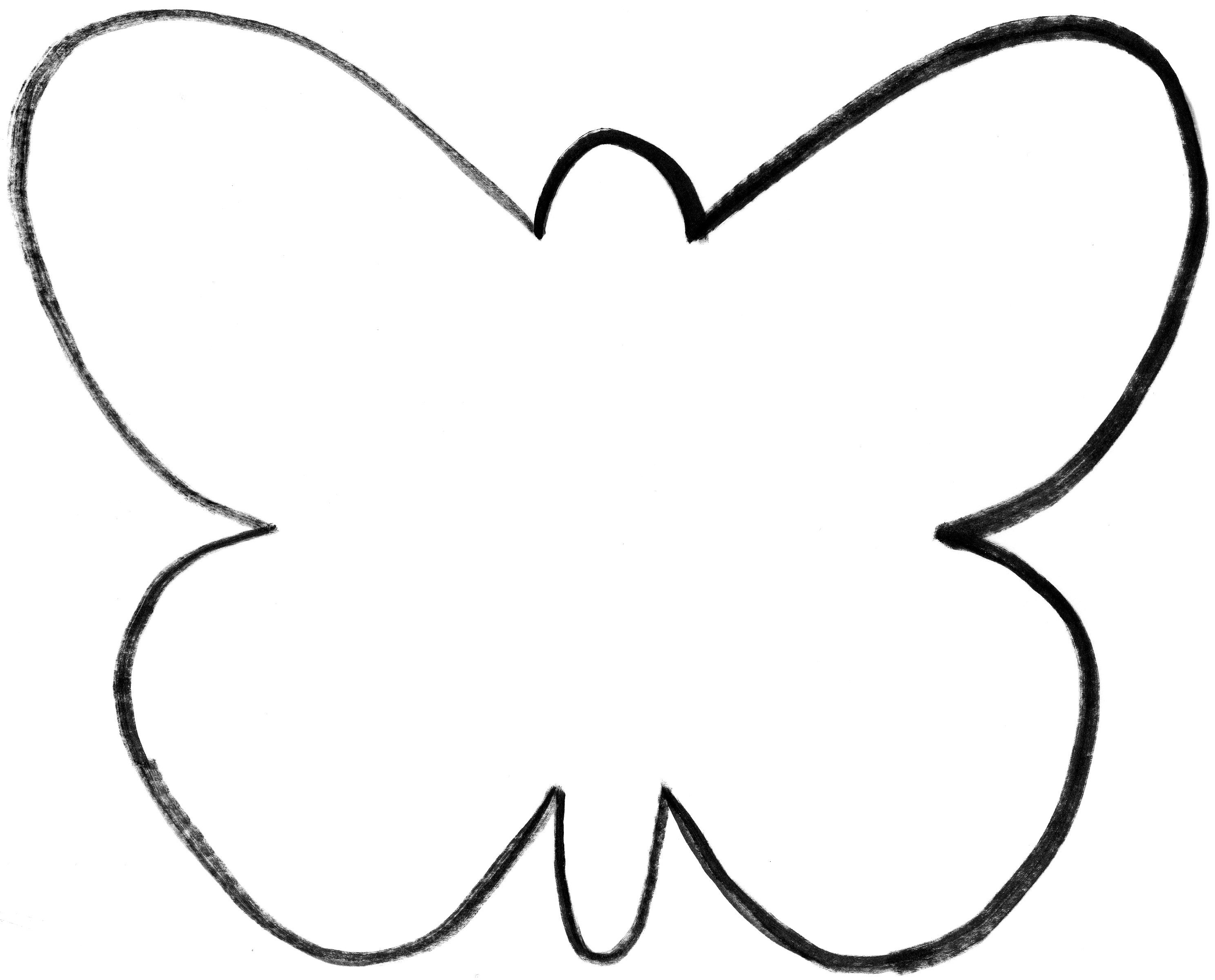 butterfly template butterfly template 2 for free tidyform