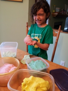 Playdough tester