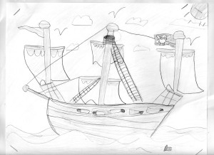 Lily's boat