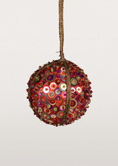 ruby-sequin-ball-ornament